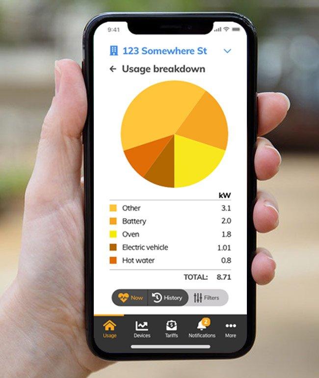 wattwatchers phone app