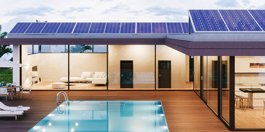 solar panels outright