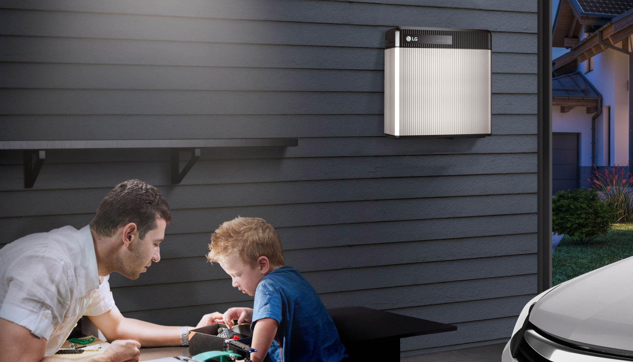 Nectr home Solar Battery LG