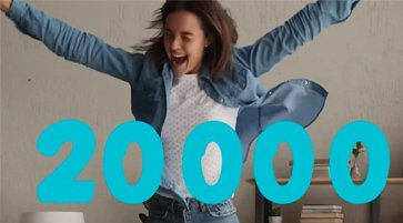 20000 customers