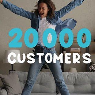 20000 customer nectr