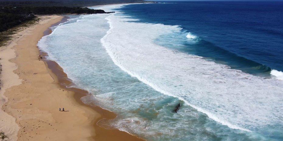 World Environment Day beach