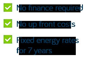 solar + battery no finance no upfront costs